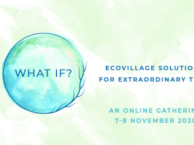 Launching the first Online Ecovillage Gathering
